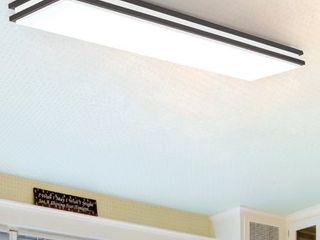 4 ft lithonia lighting lED linear light   Bronze  Cracked