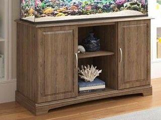 Ameriwood Home 50   75 Gallon Aquarium Stand  Rustic Oak Model  5692333COM