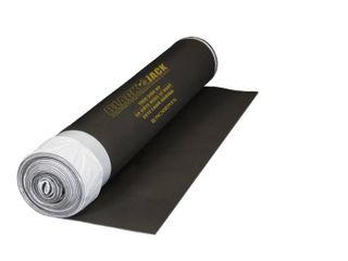 Black Jack 100 sq  ft  28 ft  x 43 in  x 2 5 mm Roll of 2 in 1 Premium laminate and Engineered Wood Flooring Underlayment