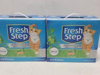 Fresh Step Advanced Gain And Febreze Kitty litter