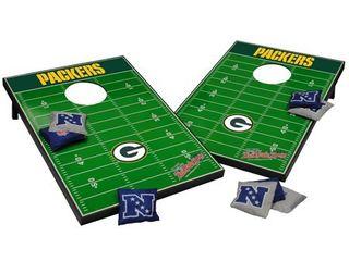 Packers Wildsports Bean Bag Toss lawn Game   10 Piece