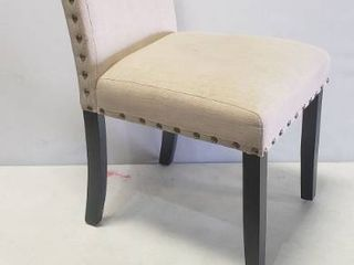 Single Dining Chair 19in X 25in X 38in