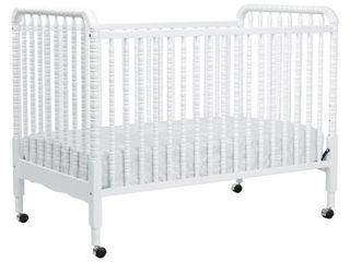 DaVinci Jenny lind 3 in 1 Convertible Crib  White