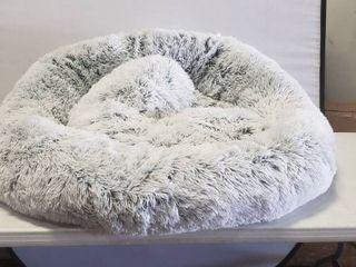 Calming Donut Shag Cuddler a   245x45cm Frost