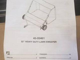 Agrifab 52  Heavy Duty lawn Sweeper
