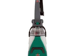 Bissell Big Green Deep Cleaning Carpet Cleaner   Model 86T3   Plugged in   Powered On