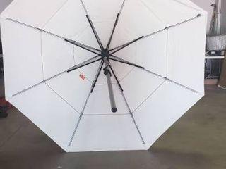 8ft Tall 9ft Radius Patio Umbrella  No Base