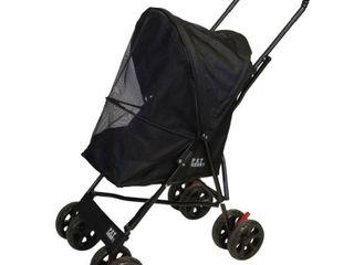 Pet Gear Ultra lite Travel Stroller  Compact  large Wheels  lightweight  38  Tall