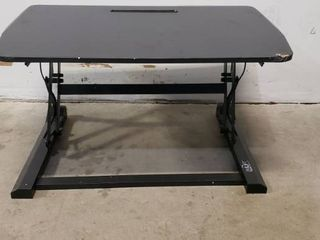 Rising Desk Stand That Sits On Top Of Desks 23 X 36 Rises Between 19in 7in
