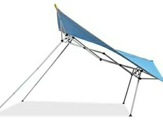 Caravan Canopy Sports EVO08021 8  x 8  Evo Shade Instant Canopy  Blue Top White Frame
