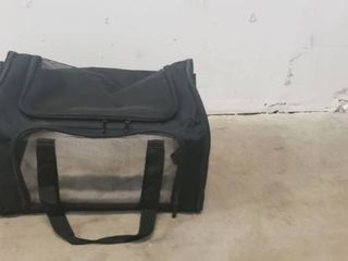 Pet Carrying Bag With Fluffy Floor  20in X 10in X 14in