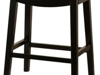 Copper Grove Divjake 26 in  Bonded leather Saddle Counter Stool  Retail 129 99