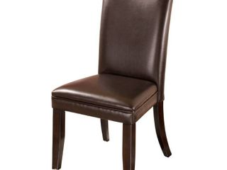 Charrell Dining Room Chair   Set of 2   Medium Brown  Retail 175 99