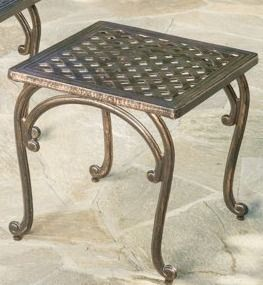 Mckinley Cast Outdoor End Table by Christopher Knight Home  Retail 198 49