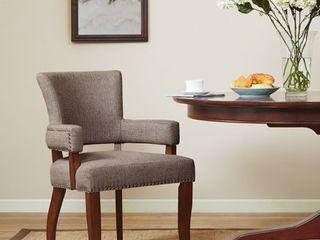Copper Grove Cobleland Brown Arm Dining Chair   24 w x 25 5 d x 35 h  Retail 141 99