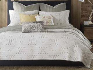 Carson Carrington Marijampole Cotton 3 piece Coverlet Set  Retail 122 11