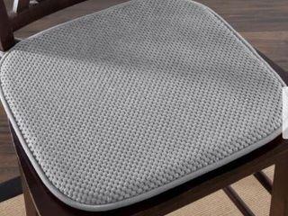 Windsor Home Memory Foam Chair Pad  Set of 2  Retail 82 49