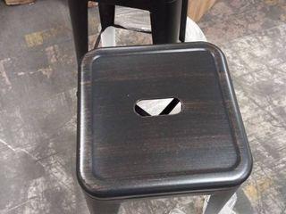 Carbon loft Ruska Steel 30 inch Bar Stool  Set of 2