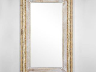 Woven Rattan Mirror 39  x 24    Brown  Retail 156 99