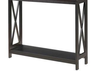 Copper Grove Cranesbill X base Console Table   Retail 95 49