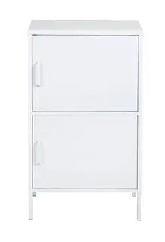 Furniture R 2 Door Accent Metal Cabinet Retail 160 49