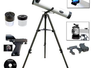 Cassini 800mm X 80mm Reflector telscope   Galileo Smartphone Adapter