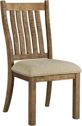 Grindleburg Dining Room Chair   Set of 2   White light Brown Retail 184 99