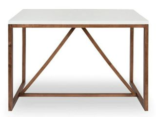 Kate and laurel Kaya Counter Height Pub Table   48x24x36  Retail 356 49