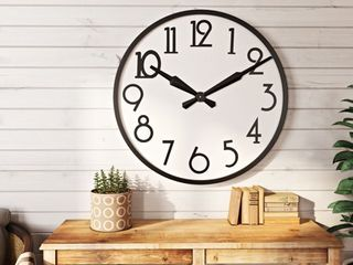 Corby large Wall Clock