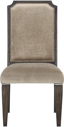 Peregrine Side Chair  Set 2  in Fabric   Dark Brown Retail 338 99