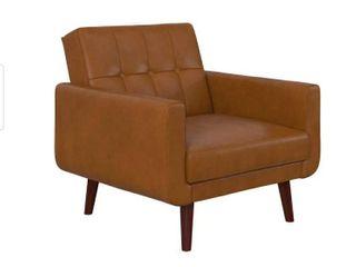 Avenue Greene Fania Faux leather Modern Chair  Retail 281 49