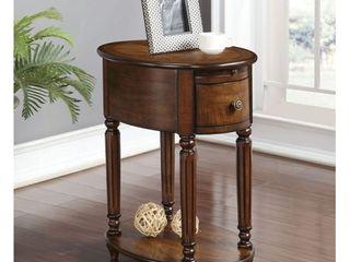 Peniel Dark Oak Side Table  Retail 163 49