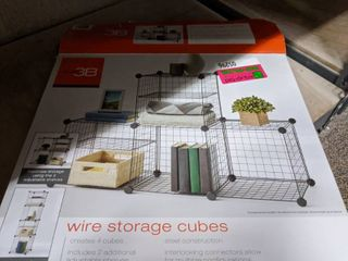 2  Boxes Of Storage Cubes