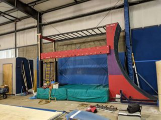 Complete Ninja Systems Warped Wall 12ft