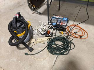 Stinger Wet Dry Vac  Booster Cables And More