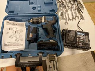 Hercules 20V Compact Drill With Charger