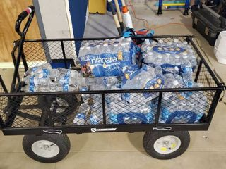Wagon Cart Includes Water