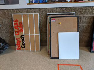 Assorted Cork Boards