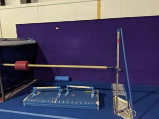 EZ Flex Sports Purple Bonded Foam Flooring 1 25in Thick  Other Items In Photo Not Included