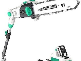 litheli 40v 10 Inches Cordless Pole Saw With 2 5ah Battery And Charger