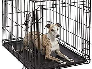 life Stages lS 1636 Single Door Folding Crate for Intermediate Dogs 41   70lbs