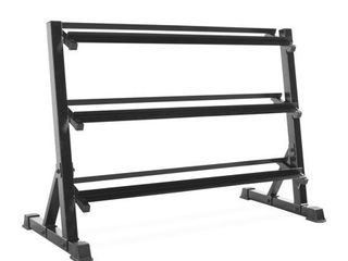 CAP Barbell 3 Tiered Dumbbell Storage Rack  51 Inch MISSING 1 BASE PIECE