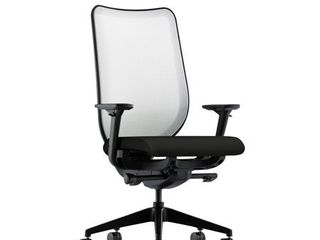 HON Nucleus Task Chair with Mesh Back  in Black  HN1