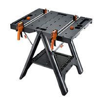 WORX Pegasus Multi Function Work Table and Sawhorse with Quick Clamps and Holding Pegs  WX051 APPEARS USED  NOT FUllY INSPECTED OUTSIDE BOX OF