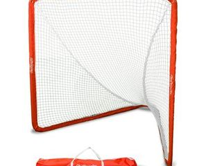 GoSports Regulation lacrosse Goal with Steel Frame Only Truly Portable lacrosse Goal