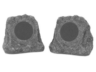 1 Speaker  Innovative Technology Outdoor Rock Speaker Pair   Wireless Bluetooth Speakers for Garden  Patio   Waterproof Design  Built for all Seasons   Rechargeable Battery   Wireless Music Streaming   Charcoal