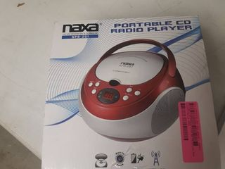 Portable CD Player with AM FM Stereo Radio