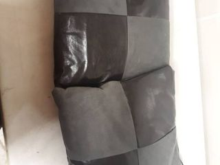 Two 4 Squared Cheeckerd Patterend Pillows