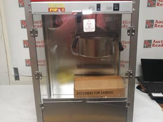 Theater Popcorn Machine with Scoop and Popcorn Bags