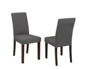 Grey and Beige Dining Chair  Retail 109 99